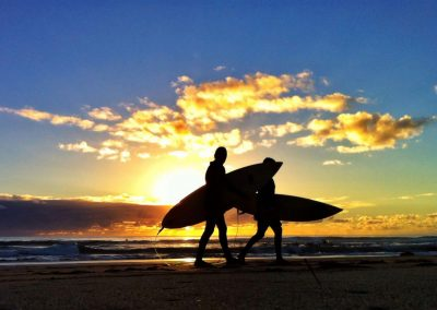 Autumn Surfing in Australia